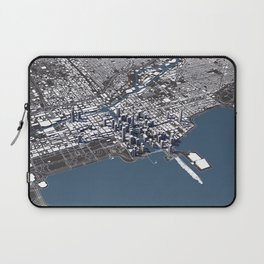 Chicago City Map II Laptop Sleeve