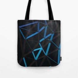 3D Futuristic GEO Lines VI Tote Bag