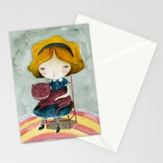Alice In Watercolorland Stationery Cards