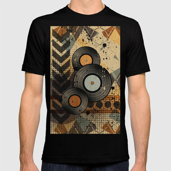 Retro Vinyl. T-shirt