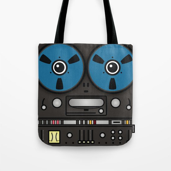 reel tape recorder Tote Bag