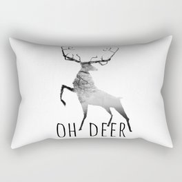 oh deer /Agat/ Rectangular Pillow