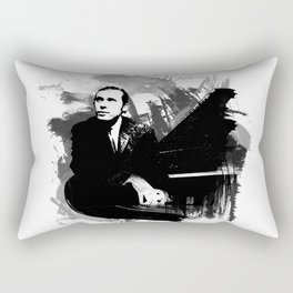 Glenn Gould Rectangular Pillow