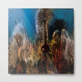 Ancient Reef Metal Print