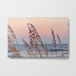 Windy Sunsets Metal Print