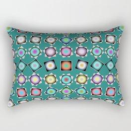 Teal Teaser, 2130d7 Rectangular Pillow