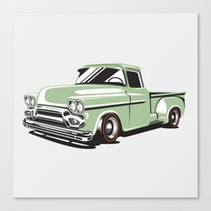Rat Rod Truck Canvas Print