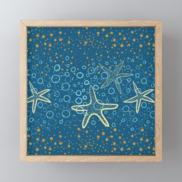 Seastars Framed Mini Art Print