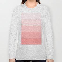 Pastel Paradise Pink Stripe Long Sleeve T-shirt