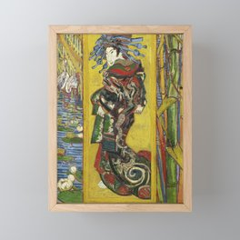 Japonaiserie by Vincent van Gogh Framed Mini Art Print