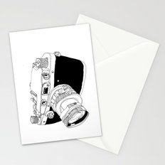 Camera Drawing Stationery Cards