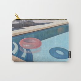 Pink Pool Inner Tube Carry-All Pouch