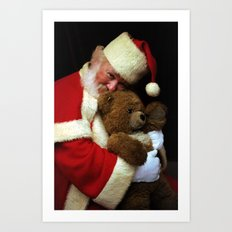 Me And My Teddy Bear Art Print