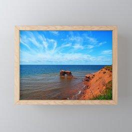 Sandstone holy rock Framed Mini Art Print