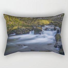 Nant Ffrancon Pass River Rectangular Pillow
