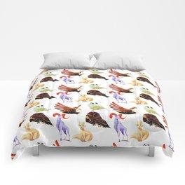 Arctic animals Comforters