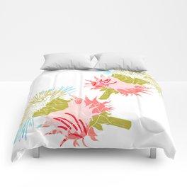 Pure flower Comforters