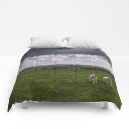 Sheep In The Stour Valley Comforters