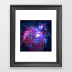 Orion Honeycomb Framed Art Print
