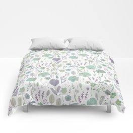 Wild Bloom Comforters