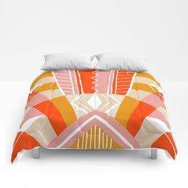 salida, woven rug pattern Comforters