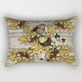 History of the autumn forest_4 Rectangular Pillow