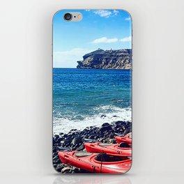Greek Kayaks iPhone Skin