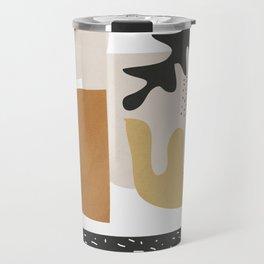 Abstract Shapes  2 Travel Mug