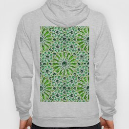 Geometric gemstones (emerald) Hoody