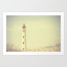 Tower Of Light Art Print
