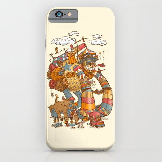 Circusbot iPhone & iPod Case