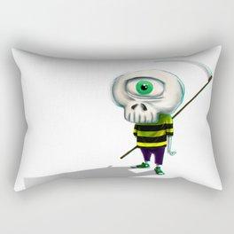 One eye casual skeleton Rectangular Pillow