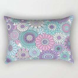 Thrifted Linen Lavender Rectangular Pillow