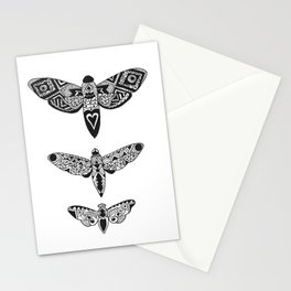 Triptyque papillon Stationery Cards