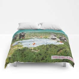 THIS IS NOT A DREAM Comforters