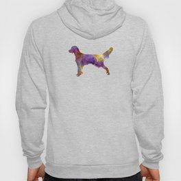 French Spaniel in watercolor Hoody