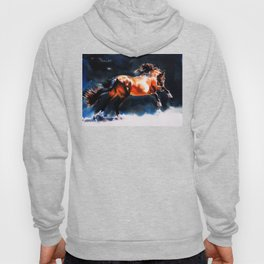 Alive - Exuberant and Powerful Stallion Hoody