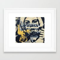 pulp Framed Art Prints featuring Pulp by Mike Ferrari