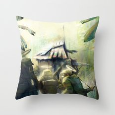 ARMY OF 3 Throw Pillow