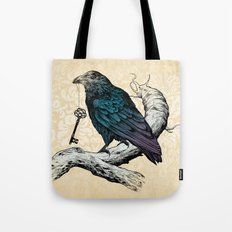 Raven's Key Tote Bag