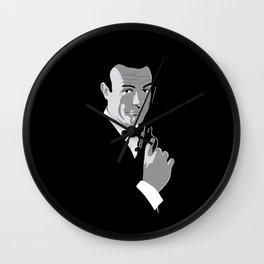 Sean Connery 007 Wall Clock