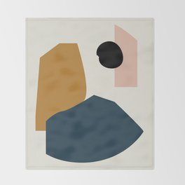 Shape study #1 - Lola Collection Throw Blanket