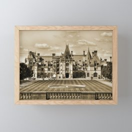 Biltmore Mansion Estate Framed Mini Art Print