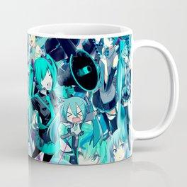 Miku anime collage Coffee Mug
