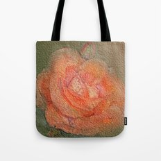 rose frome the garden Tote Bag