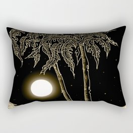 Full moon night Rectangular Pillow