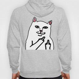 grumpy f**k you cat Hoody