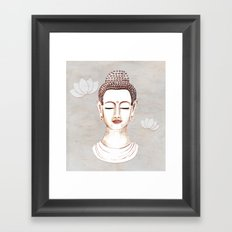 Buddha Concentrate Framed Art Print