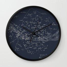 Carte Celeste Wall Clock