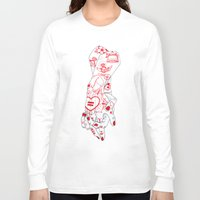 equality Long Sleeve T-shirts featuring Equality  by scoobtoobins